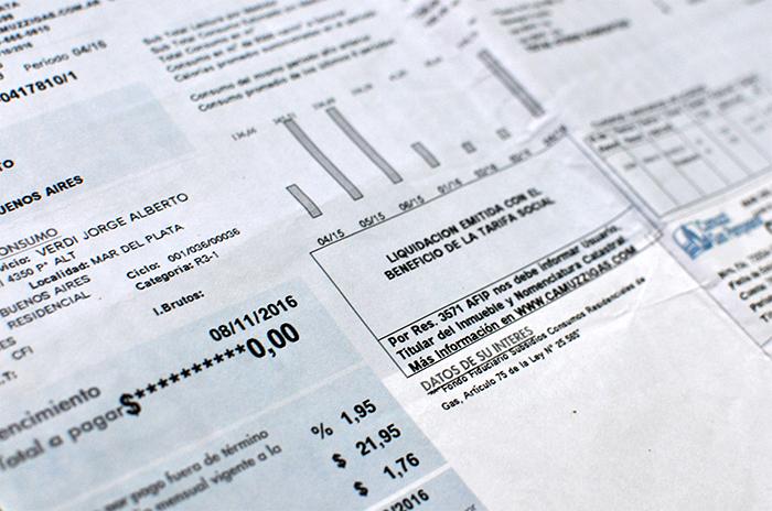 Suba del gas: facturas en cero, en la previa del aumento del 200%