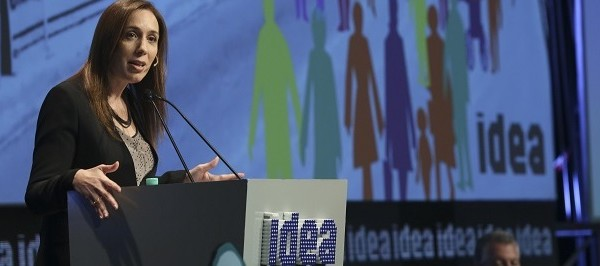"Vidal cerró el Coloquio de IDEA: ""Invertir es un voto de confianza"""