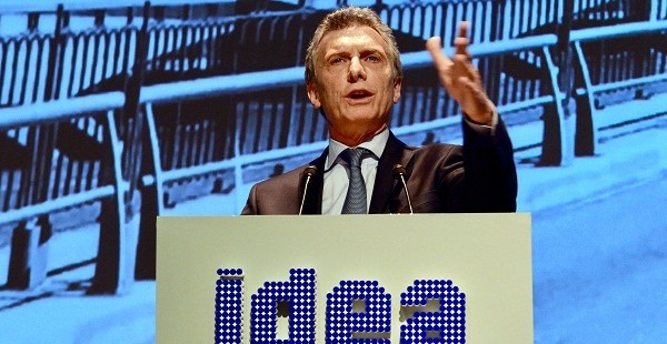 """Macri a los empresarios: """"Les pido compromiso, entusiasmo y ganas"""""""
