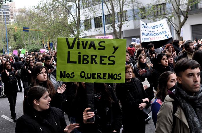 """Paro de mujeres: """"Lo que la 'no justicia' genera es bronca"""""""