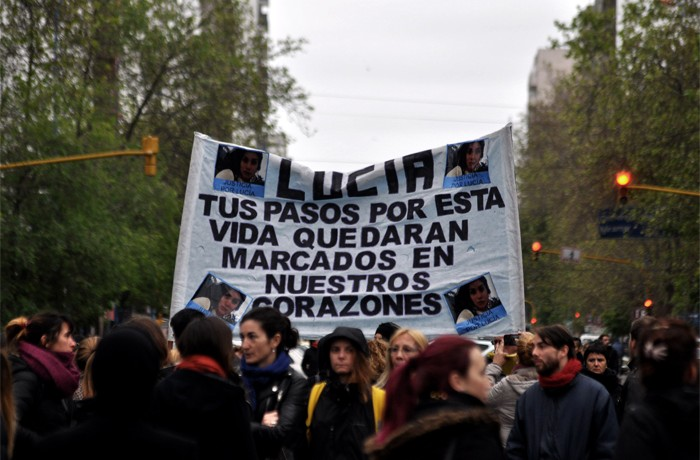 NI UNA MENOS PARO DE MUJERES LUCIA 09