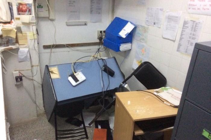 Asalto y destrozos en el Centro de Salud Alto Camet