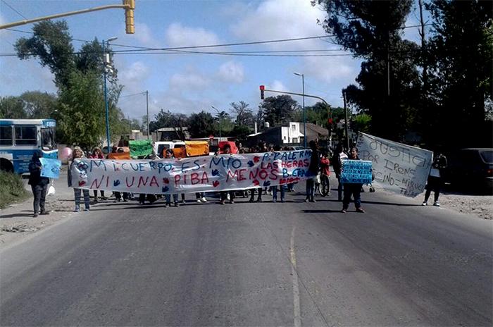 """Marcha en Parque Palermo: """"Nos sentimos desprotegidas"""""""