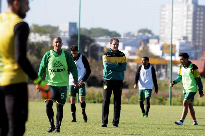 El primer equipo de Darío Franco
