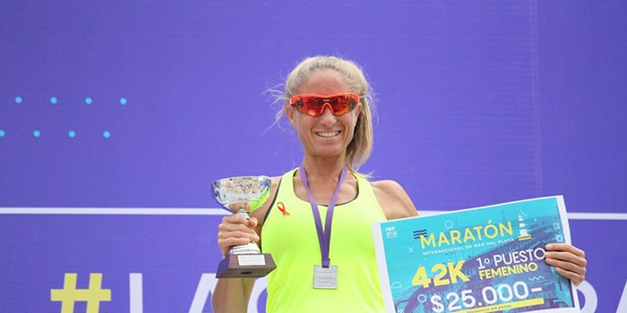 Sanguinetti y Mariel Alasia se impusieron en el Maratón