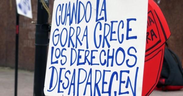 Marcha de la Gorra: voces contra la violencia policial e institucional