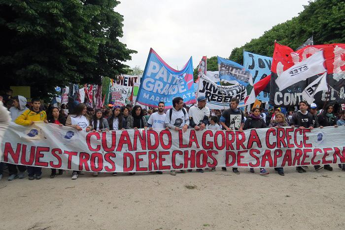 Marcha de la Gorra: el derecho de pibes y pibas a ser libres