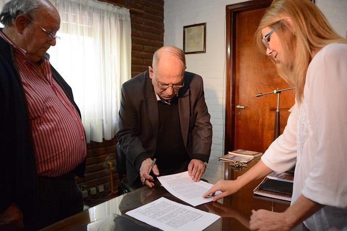 Miguel Capilla con Arroyo