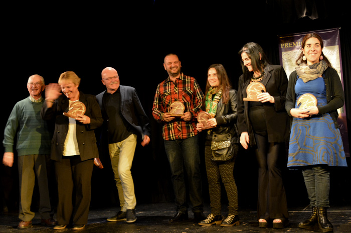Se entregaron los Premios Alfonsina