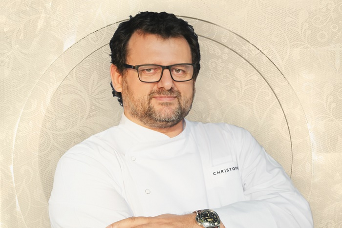 Christophe, un mastercheff en el Teatro Radio City