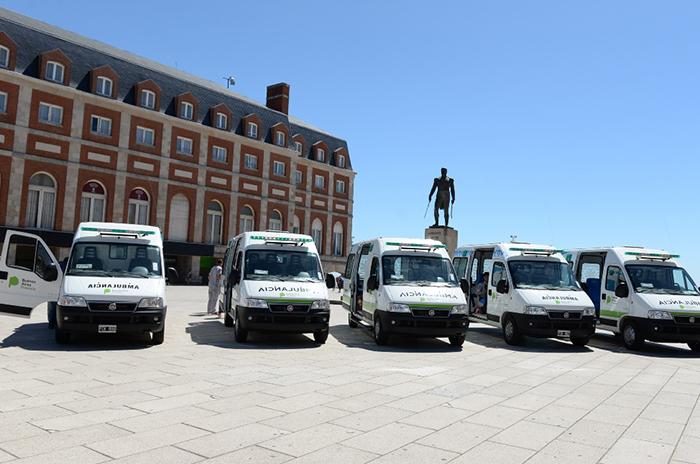 El nuevo sistema de ambulancias funcionará desde marzo