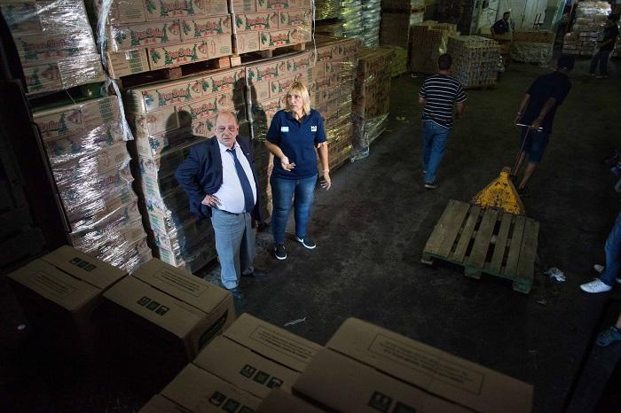 El Municipio entregó más de 200 mil kilos de alimentos