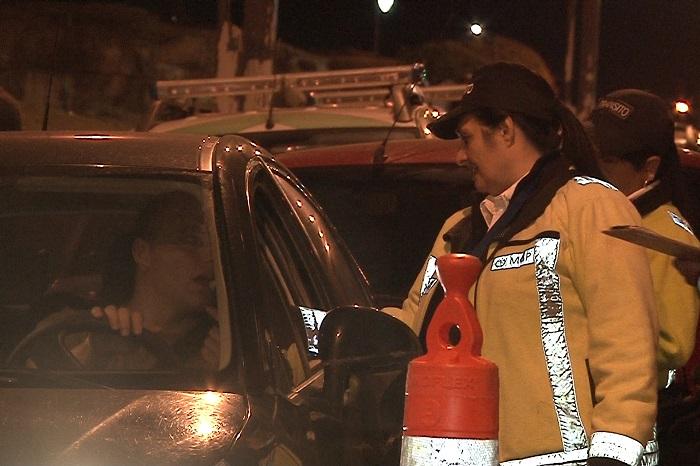 Alcoholemia en Navidad: unos 30 vehículos secuestrados
