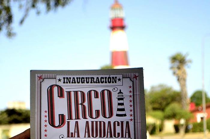 El circo La Audacia postergó su inauguración en el Faro