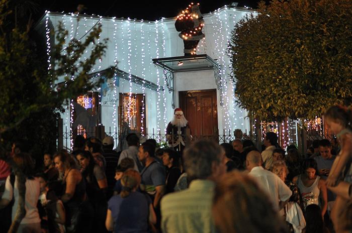 En la calle Olazábal falta menos para Navidad