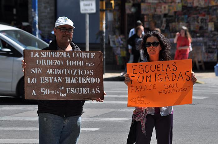 PROTESTA AGROQUIMICOS FUMIGACIONES 10