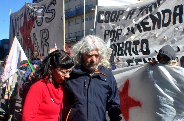 anuario VOTAMOS LUCHAR PROTESTA JUEZ LOPEZ CORREPI INCIDENTES MACRI  (17)