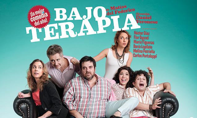 [teatro] BAJO TERAPIA @ Teatro Atlas | Mar del Plata | Buenos Aires | Argentina