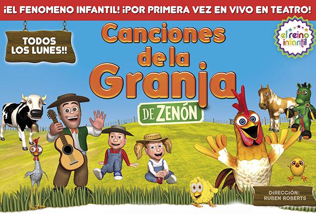 [teatro] CANCIONES DE LA GRANJA  @ Teatro Mar del Plata | Mar del Plata | Buenos Aires | Argentina
