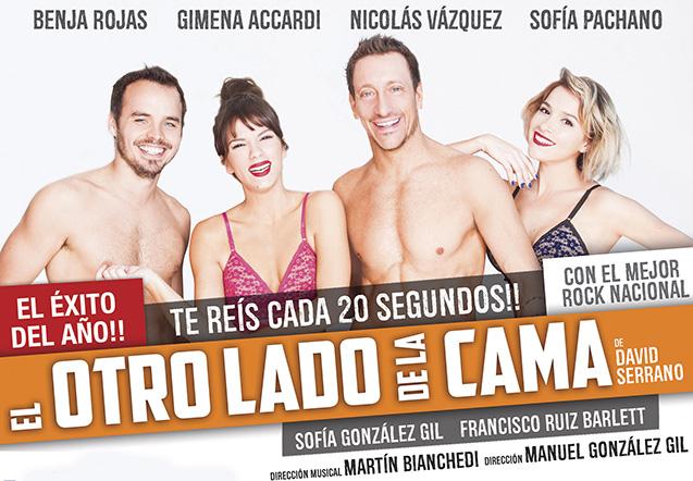 [teatro] EL OTRO LADO DE LA CAMA @ Teatro Mar del Plata | Mar del Plata | Buenos Aires | Argentina