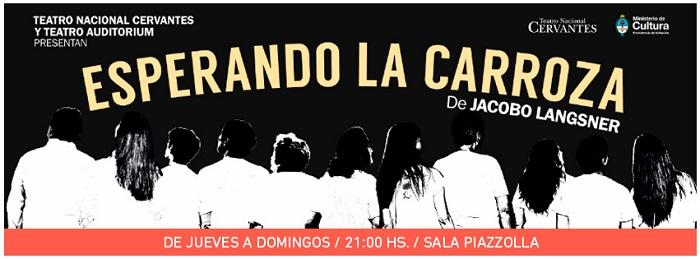 [teatro] ESPERANDO LA CARROZA @ Teatro Auditorium | Mar del Plata | Buenos Aires | Argentina