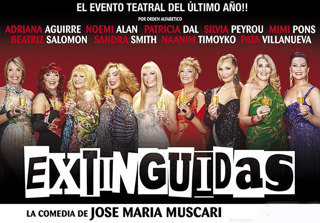 [teatro] EXTINGUIDAS @ Teatro Atlas | Mar del Plata | Buenos Aires | Argentina