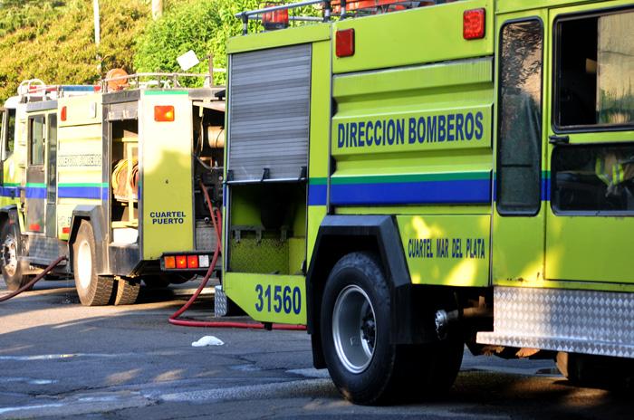 Se incendió un hotel en el centro y 18 personas fueron evacuadas