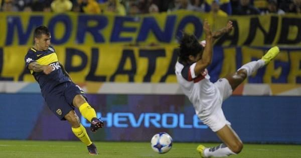 En un partido vibrante, Boca y San Lorenzo empataron 2 a 2