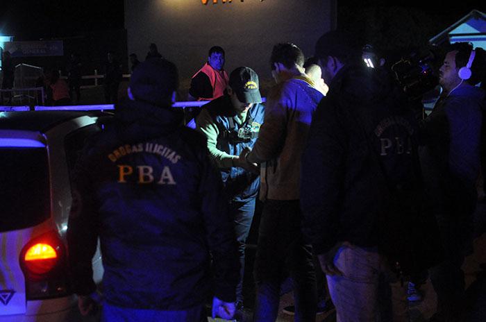 Fiestas electrónicas: tres dealers detenidos durante los operativos