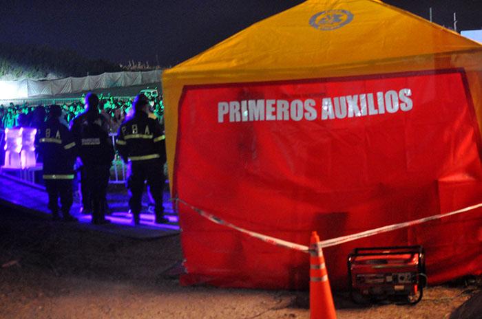 Fiestas electrónicas blindadas: dos jóvenes fueron hospitalizados