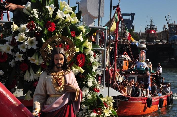 """Cierre de la Fiesta de los Pescadores y homenaje al """"San Antonino"""""""