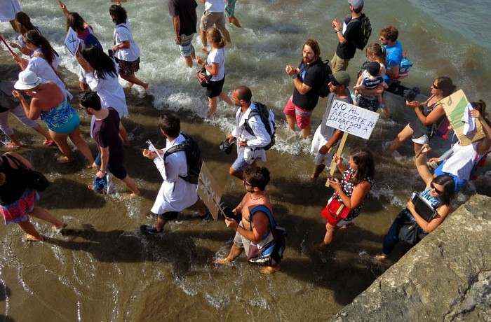 PROTESTA PLAYA CONICET AJUSTE CIENCIA 05