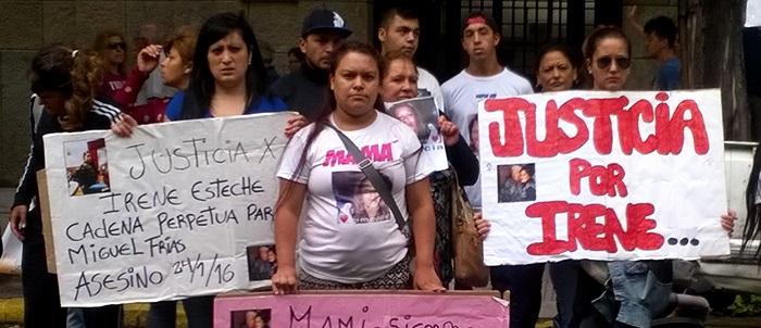 "Femicidio de Irene Esteche: ""Pedimos que se haga justicia"""