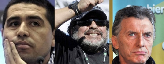 Esperan a Riquelme, Maradona y Macri para el Superclásico