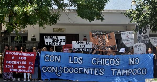 Caso Gianelli: el colegio y un nuevo respaldo a Analía Schwartz