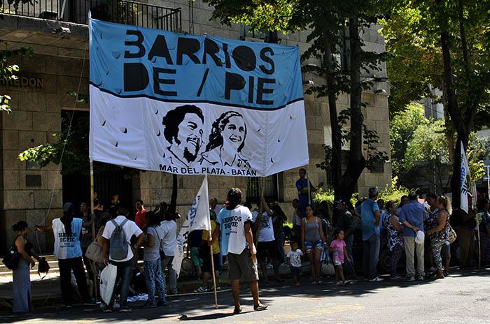 Barrios de Pie reclamó por el recorte de programas de empleo
