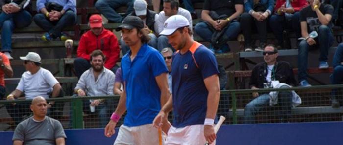 Zeballos y Peralta cayeron en su debut en Bastad