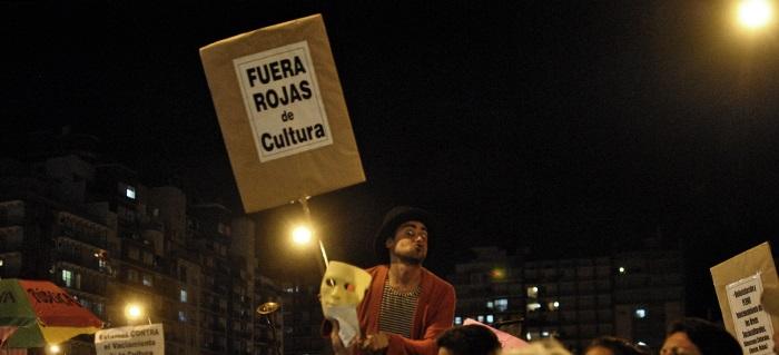 Estrella de Mar: afuera, el reclamo por el recorte en Cultura