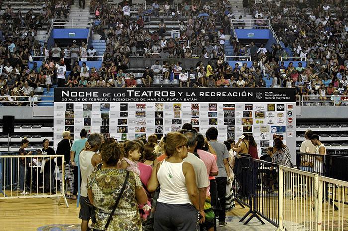 """Noche de los Teatros: """"Dimos 24 mil entradas, misión cumplida"""""""