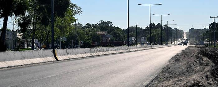 """Siguen los reclamos en Batán por el """"muro"""" de la Ruta 88"""