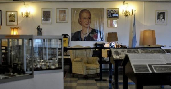 Museo Eva Perón: jirones de su vida, a minutos de Mar del Plata