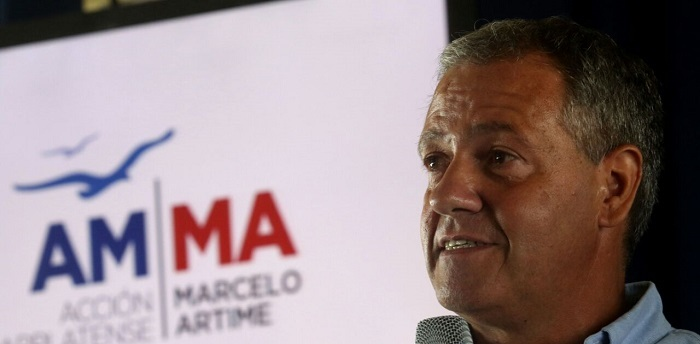 """Artime lanzó su precandidatura: """"Arroyo, si está cansado váyase"""""""