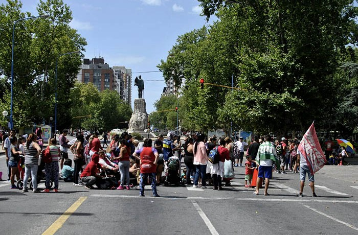 PROTESTA COOPERATIVAS SIN TECHO PATRIA GRANDE (1)