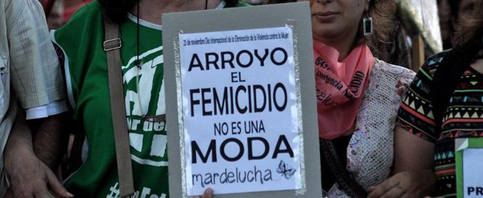 Violencia de género: piden que Arroyo extienda la emergencia