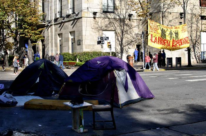 Cooperativistas levantaron el acampe frente al Municipio