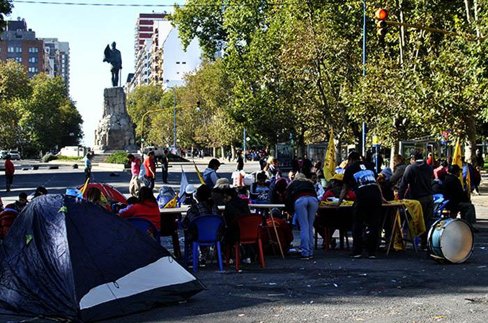 """Acampe: """"Vidal tiene suspendida la ayuda al Municipio"""""""
