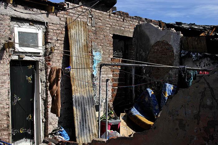 Conventillo incendiado: de la desolación a la reconstrucción