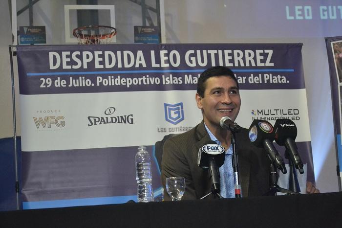 Leo Gutiérrez le puso fin a su carrera como profesional