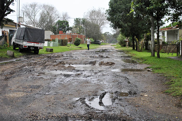 El sur todavía sufre el diluvio