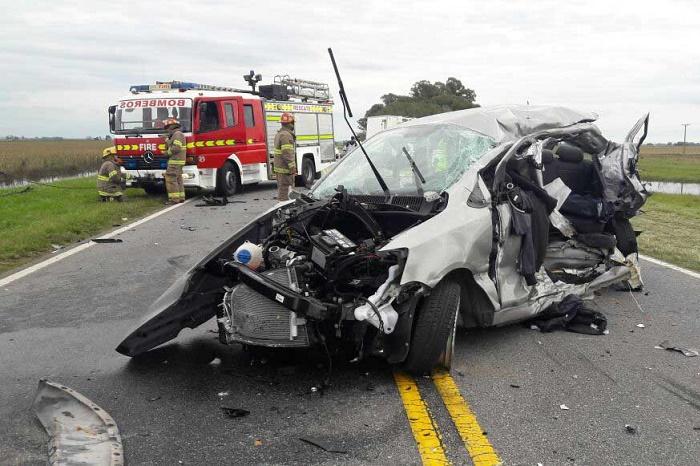 Ruta 226: murió un hombre en un accidente